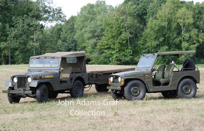 ジムニー、米軍軍用車として利用されていた?