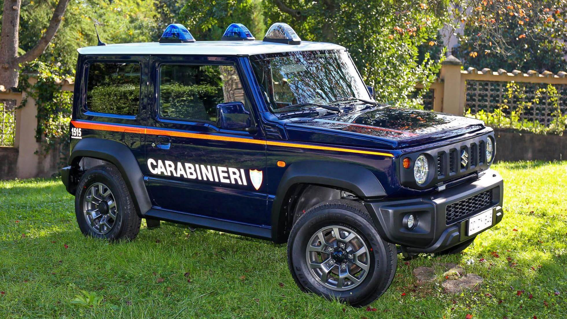 【逮捕しちゃうぞ】スズキジムニー、イタリアでパトカーとして活躍することに!